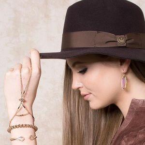 NWT! Kendra Scott *Claire* Evil Eye Hand Bracelet